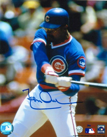 Autographed Leon Durham Chicago Cubs 8x10 Photo PSM-Powers Sports Memorabilia