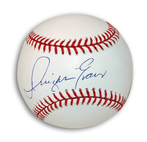 Autographed Dwight Evans MLB Baseball PSM-Powers Sports Memorabilia