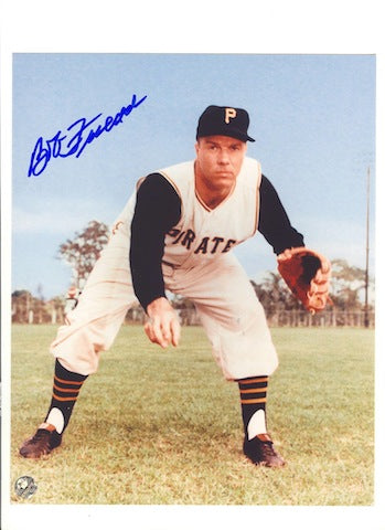 Autographed Bob Friend Pittsburgh Pirates 8x10 Photo PSM-Powers Sports Memorabilia