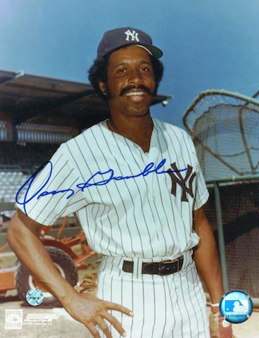 Autographed Oscar Gamble New York Yankees 8x10 Photo PSM-Powers Sports Memorabilia