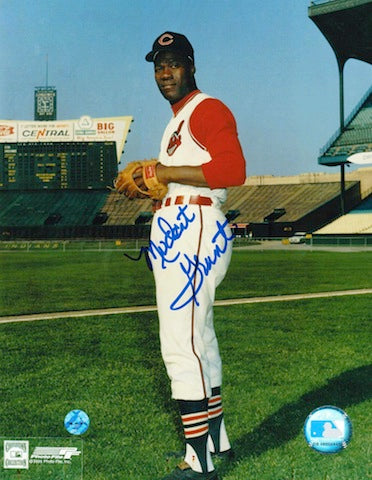 Autographed Jim Mudcat Grant Cleveland Indians 8x10 Photo PSM-Powers Sports Memorabilia