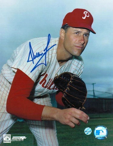 Autographed Dallas Green Philadelphia Phillies 8x10 Photo PSM-Powers Sports Memorabilia