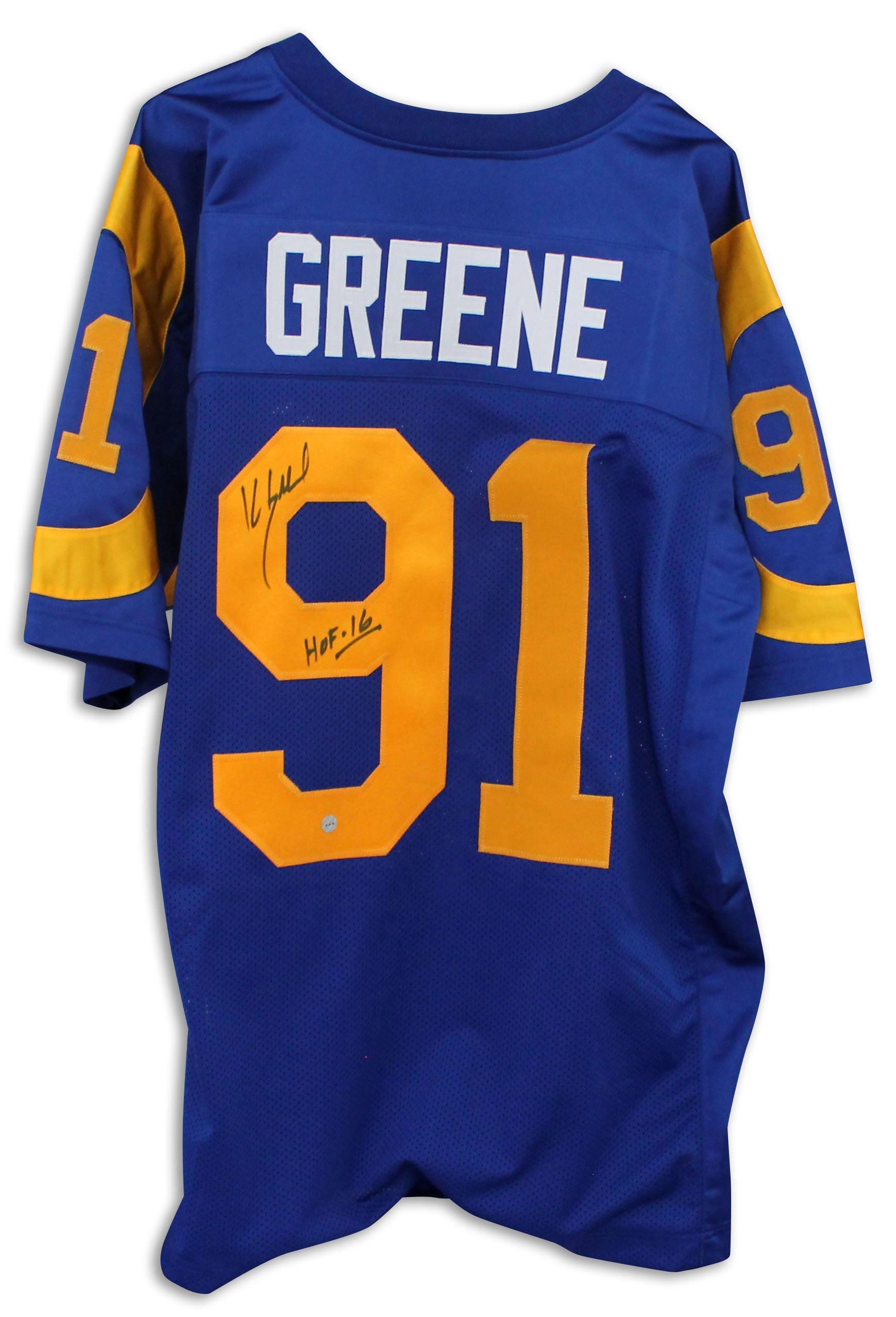 Kevin Greene Autographed Sports Memorabilia Football Collectibles