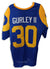 Todd Gurley Los Angeles Rams Autographed Royal Blue Jersey PSM-Powers Sports Memorabilia