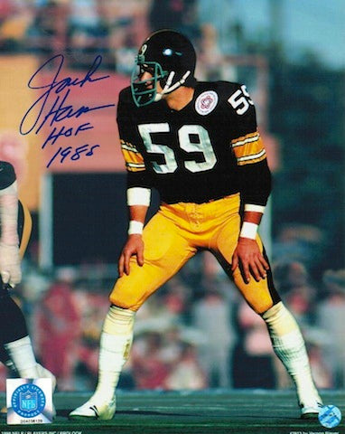 "Autographed Jack Ham Pittsburgh Steelers 8x10 Inscribed ""HOF 1988"" PSM-Powers Sports Memorabilia"