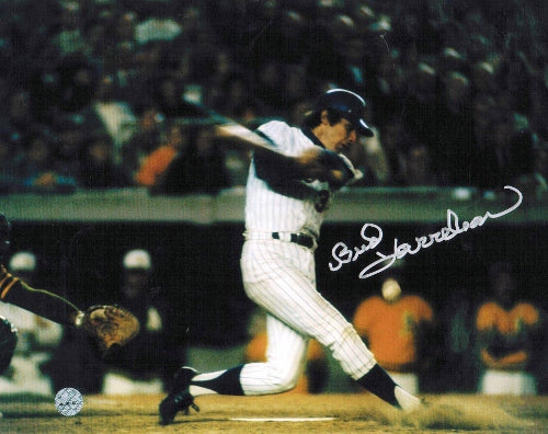 Bud Harrelson New York Yankees Autographed 8x10 Photo PSM-Powers Sports Memorabilia