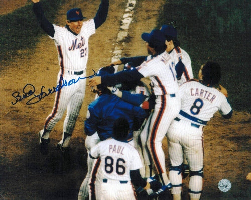 Bud Harrelson New York Mets Autographed 8x10 Photo PSM-Powers Sports Memorabilia