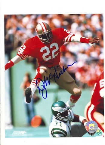 Autographed Dwight Hicks San Francisco 49ers 8x10 Photo PSM-Powers Sports Memorabilia