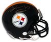 Merril Hoge Pittsburgh Steelers Autographed Mini Helmet PSM-Powers Sports Memorabilia