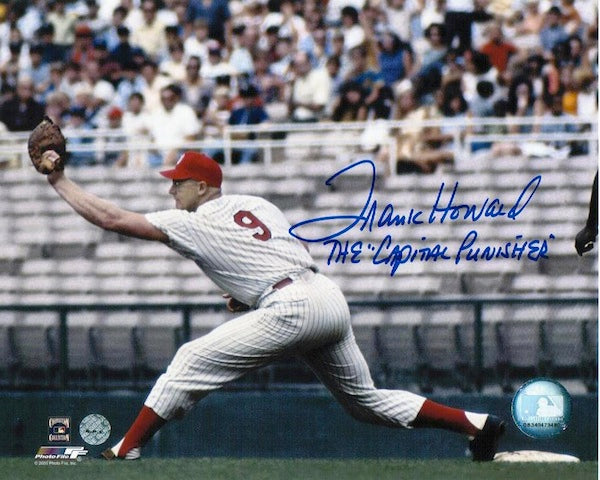 "Autographed Frank Howard Washington Senators 8x10 Photo Inscribed ""The Capital Punisher"" PSM-Powers Sports Memorabilia"