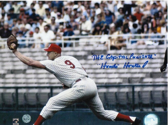 "Autographed Frank Howard Washington Senators 8x10 Photo Inscribed ""The Capital Punisher"" and ""Hondo"" PSM-Powers Sports Memorabilia"