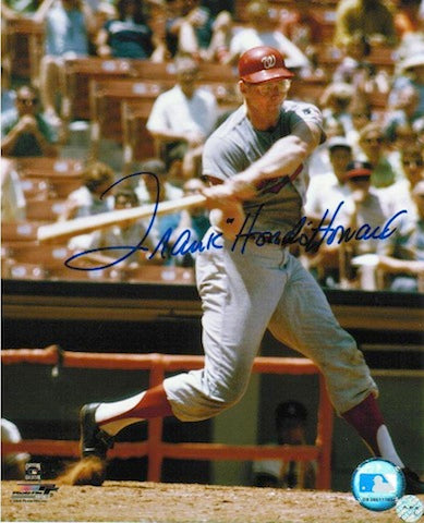 "Autographed Frank ""Hondo"" Howard Washington Senators 8x10 Photo PSM-Powers Sports Memorabilia"