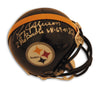 "Roy Jefferson Pittsburgh Steelers Autographed Mini Helmet Inscribed ""2 Pro Bowls 68-69"" PSM-Powers Sports Memorabilia"