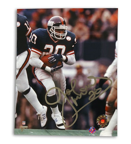 Autographed Joe Morris 8 X 10 Photo PSM-Powers Sports Memorabilia