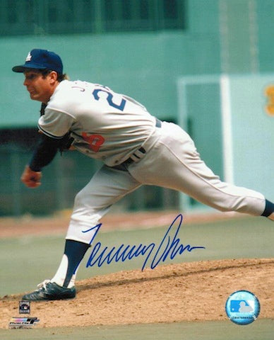 Autographed Tommy John Los Angeles Dodgers 8x10 Photo PSM-Powers Sports Memorabilia