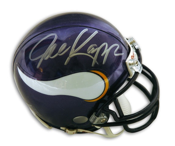 Autographed Joe Kapp Minnesota Vikings Mini Helmet PSM-Powers Sports Memorabilia