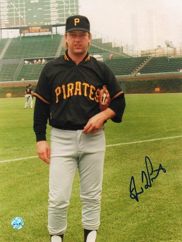 Dave LaPoint Pittsburgh Pirates Autographed 8x10 Photo PSM-Powers Sports Memorabilia