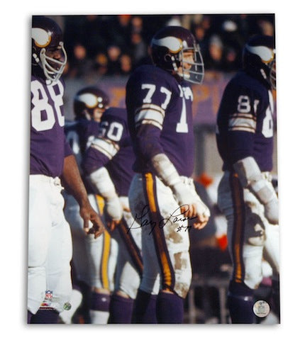 Autographed Gary Larsen Minnesota Vikings 16x20 Photo PSM-Powers Sports Memorabilia