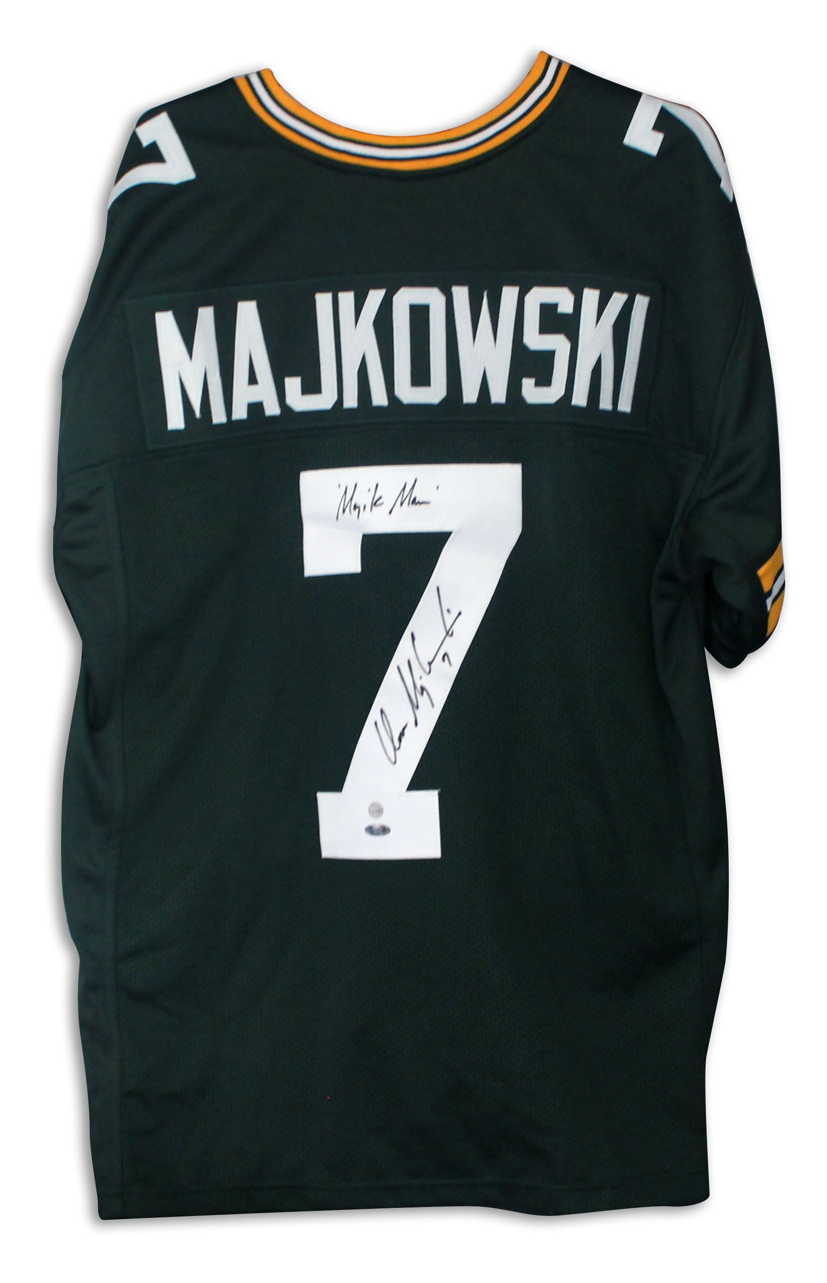 Don Majkowski Green Bay Packers Autographed Green Jersey Inscribed