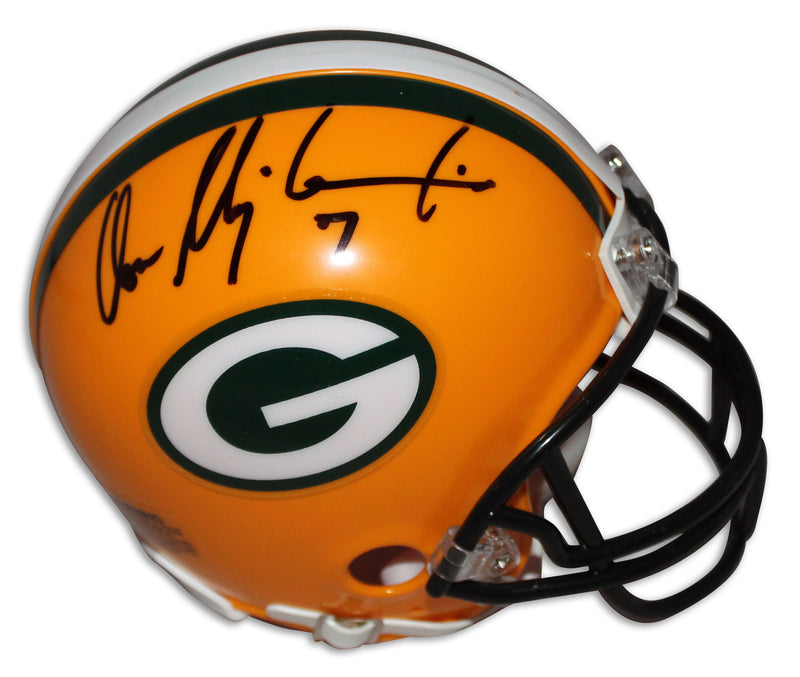 Don Majkowski Green Bay Packers Autographed Mini Helmet PSM-Powers Sports Memorabilia