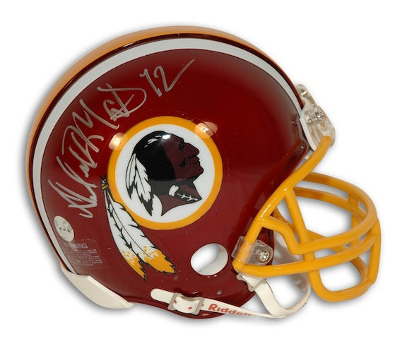 Autographed Dexter Manley Washington Redskins Mini Helmet PSM-Powers Sports Memorabilia