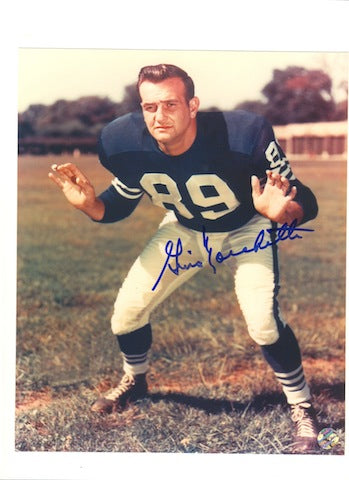 Autographed Gino Marchetti Baltimore Colts 8x10 Photo PSM-Powers Sports Memorabilia