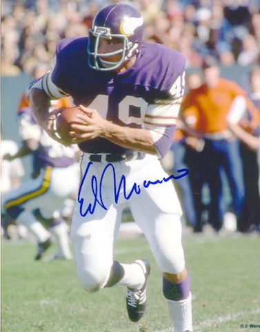 Autographed Ed Marinaro Minnesota Vikings 8x10 Photo PSM-Powers Sports Memorabilia