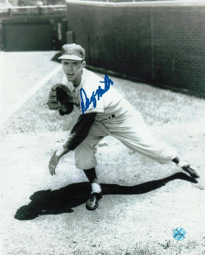 Danny McDevitt Brooklyn Dodgers Autographed 8x10 Photo PSM-Powers Sports Memorabilia