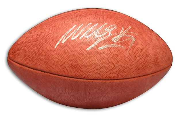 Autographed Willis McGahee NFL Football PSM-Powers Sports Memorabilia