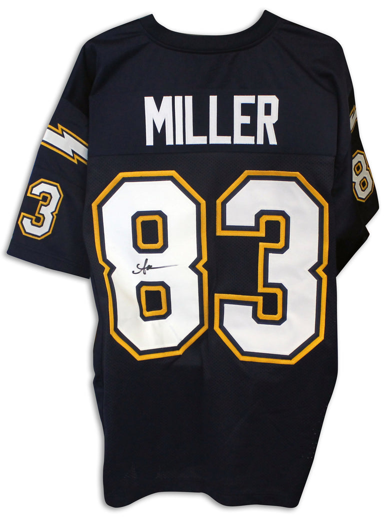 Anthony Miller San Diego Chargers Autographed Blue Jersey PSM-Powers Sports Memorabilia