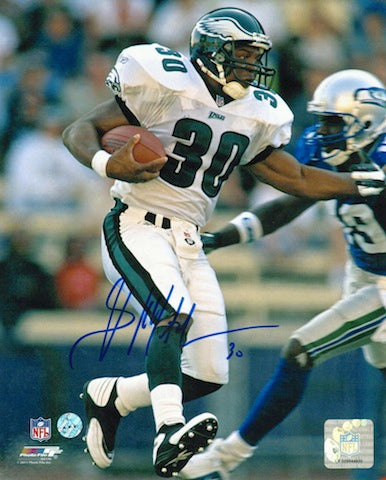 Autographed Brian Mitchell Philadelphia Eagles 8x10 Photo PSM-Powers Sports Memorabilia