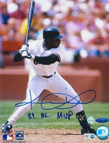 "Autographed Kevin Mitchell San Francisco Giants 8x10 Photo Inscribed ""89 NL MVP"" PSM-Powers Sports Memorabilia"