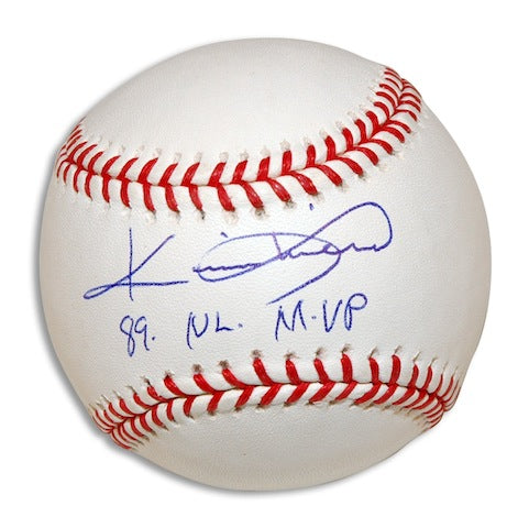 "Autographed Kevin Mitchell Baseball Inscribed ""89 NL MVP"" PSM-Powers Sports Memorabilia"