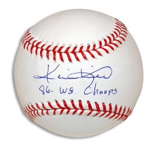 "Autographed Kevin Mitchell Baseball Inscribed ""86 WS Champs"" PSM-Powers Sports Memorabilia"