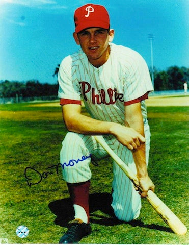 Autographed Don Money Philadelphia Phillies 8x10 Photo PSM-Powers Sports Memorabilia