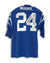 "Lenny Moore Baltimore Colts Autographed Blue Throwback Jersey Inscribed ""58-59 NFL Champs"" PSM-Powers Sports Memorabilia"