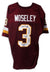 "Mark Moseley Washington Redskins Autographed Red Jersey Inscribed ""2x Pro Bowl"", ""NFL MVP 1982"", ""1382 Pts"" & ""Super Bowl XVII Champs"" PSM-Powers Sports Memorabilia"