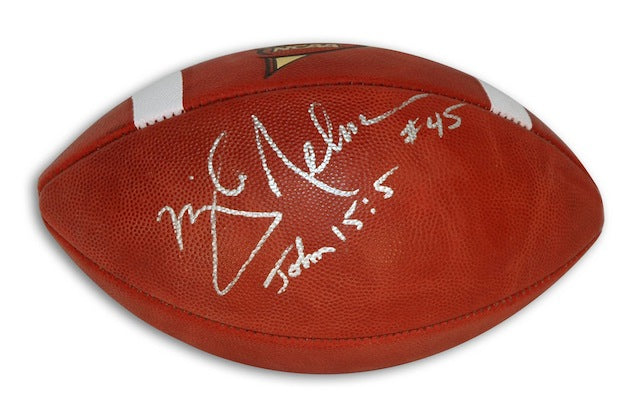 Autographed Mike Nelms Official NCAA College Football PSM-Powers Sports Memorabilia