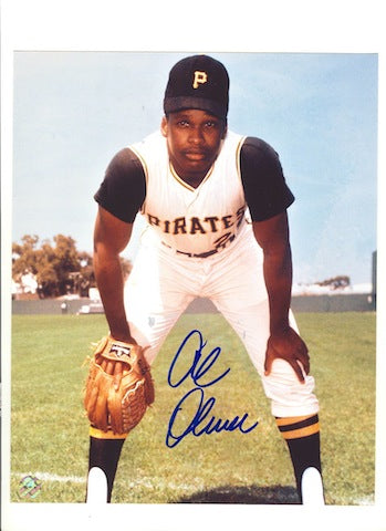 Autographed Al Oliver Pittsburgh Pirates 8x10 Photo PSM-Powers Sports Memorabilia