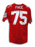 Orlando Pace Ohio State Buckeyes Red Throwback Jersey PSM-Powers Sports Memorabilia