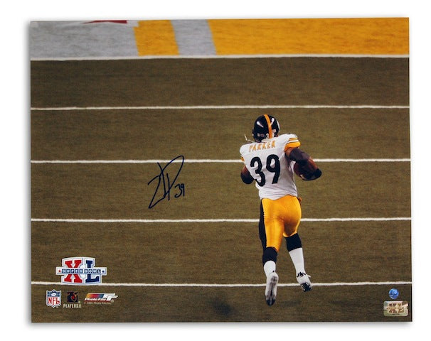 Autographed Willie Parker Pittsburgh Steelers 16x20 Photo PSM-Powers Sports Memorabilia