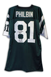 "Gerry Philbin New York Jets Autographed Green Throwback Jersey Inscribed ""SB III Champs"" PSM-Powers Sports Memorabilia"