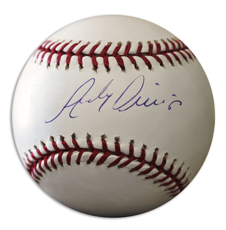 Andy Phillips Autographed Official MLB Baseball PSM-Powers Sports Memorabilia