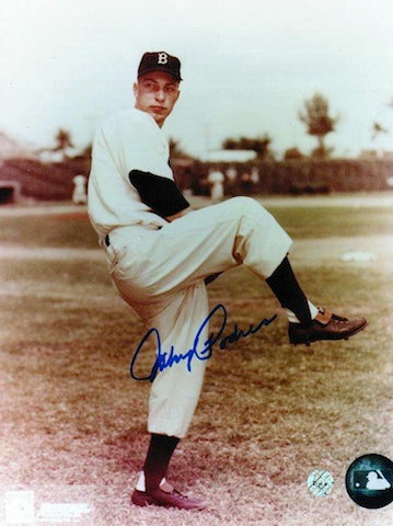 Autographed Johnny Podres Brooklyn Dodgers 8x10 Photo PSM-Powers Sports Memorabilia