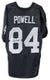 Art Powell Oakland Raiders Autographed Black Jersey PSM-Powers Sports Memorabilia