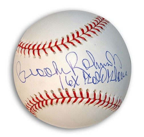 "Autographed Brooks Robinson Baseball Inscribed ""16X Gold Glove"" PSM-Powers Sports Memorabilia"