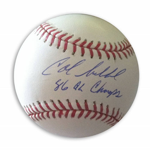 "Calvin Schiraldi Autographed MLB Baseball Inscribed ""86 AL Champs"" PSM-Powers Sports Memorabilia"