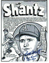 "Autographed Bobby Shantz Kansas City Athletics 8x10 Lithograph Inscribed ""8 Gold Gloves 1957-67"" PSM-Powers Sports Memorabilia"