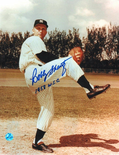 "Bobby Shantz New York Yankees Autographed 8x10 Photo Inscribed ""1958 WSC"" PSM-Powers Sports Memorabilia"