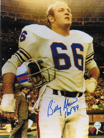 "Autographed Billy Shaw Buffalo Bills 8x10 Photo Inscribed ""HOF 99"" PSM-Powers Sports Memorabilia"